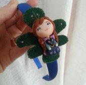 Cerchietto con Anna di Frozen- fimo