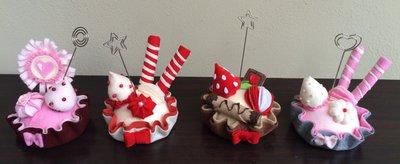 Cupcakes golosi portamemo