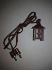 Minilampade con filo per presepe