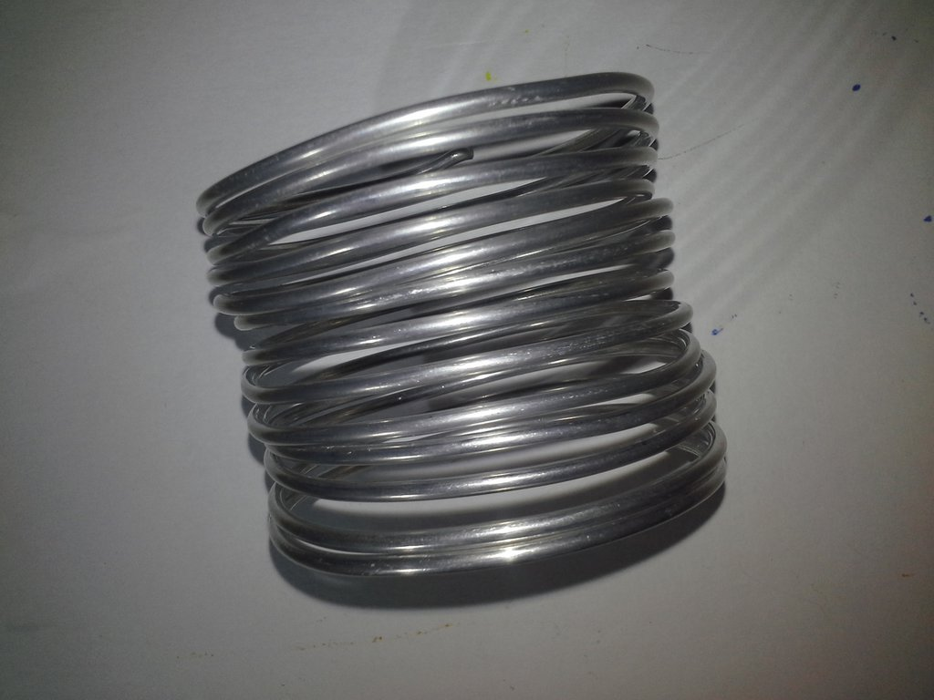 Filo di allumino argento