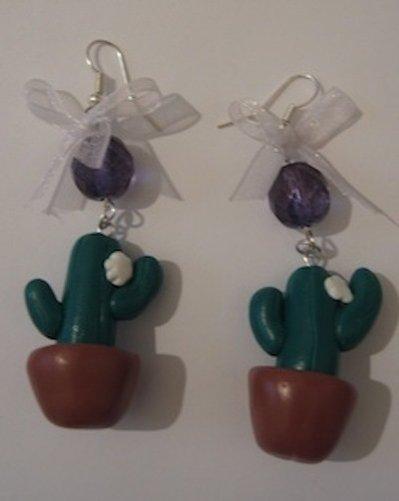 Cactus orecchini