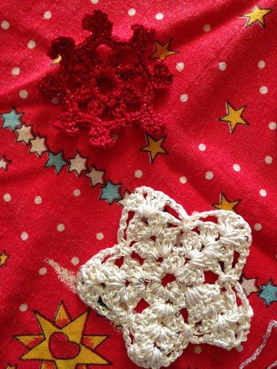 *** Addobbi e decorazioni natalizie all'uncinetto ***