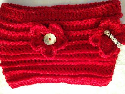 Scalda-collo misto lana uncinetto modelli vari