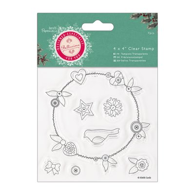 Clear Stamp - Bellissima Christmas