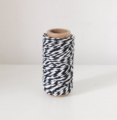 Bakers Twine -  Nero