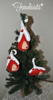 Casette natalizie da appendere all'albero di Natale :)