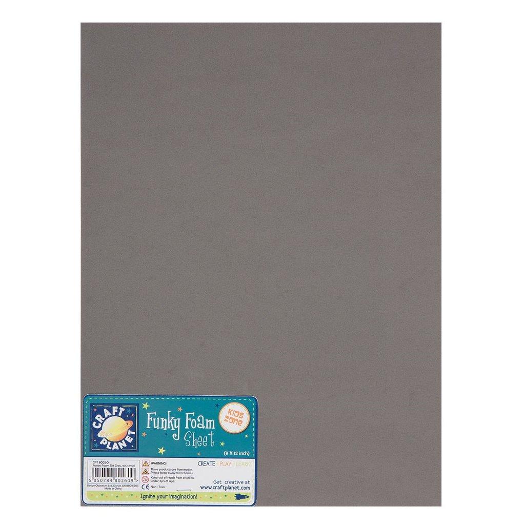 Foglio gomma crepla 23x30 - Grey