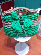 Pochette Mini jewel bags verde