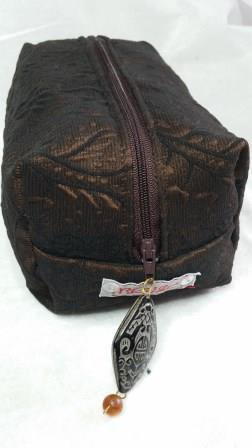 Boxie Pouch Damasc Brown