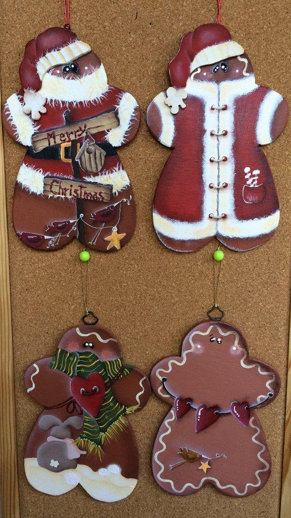Simpatici gingerbread natalizi