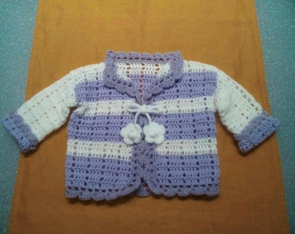 Giacchina Neonato Con Fiori Bambini Abbigliamento Di Oasi Chic