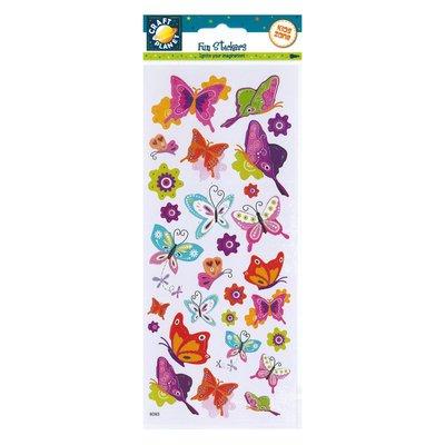 Fun Stickers - Flutterby