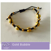 Braccialetto Gold Bubble
