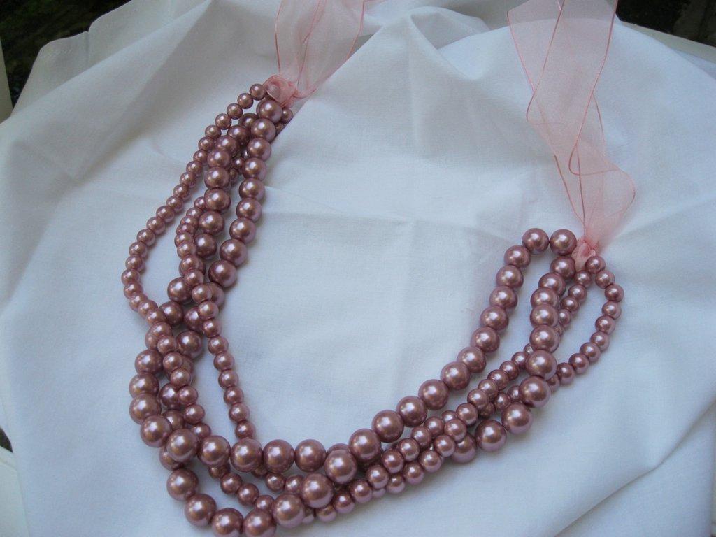 """Collana in perle stile """"Camomilla"""""""