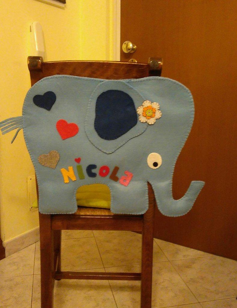 """Porta pigiama/pannolini """"elefantino"""""""