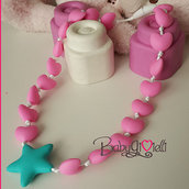 collana bambina in silicone per dentizione