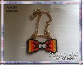 Collana Halloween Fiocco/Papillon