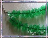 Collana in Plastica riciclata Verde
