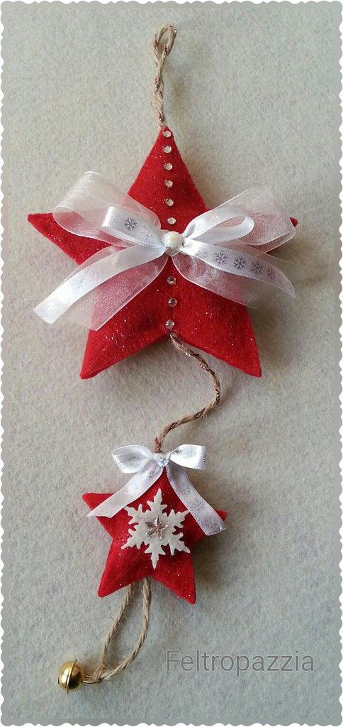 Decorazioni natalizie in feltro feste natale di - Decorazioni natalizie in feltro ...