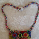 Collana embroidery Multicolor