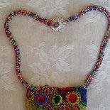 Collana embroidery Multicolor