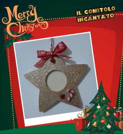 Decorazione Natale: portafoto Sparkling Star