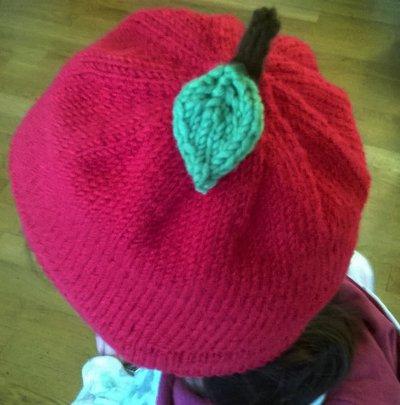 "Cappello lana ""Apple"""