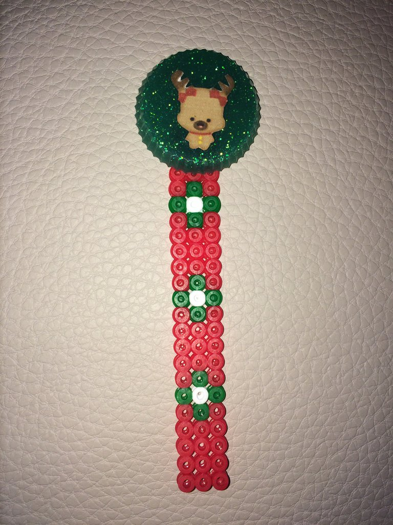 Segnalibro in pyssla - hama beads
