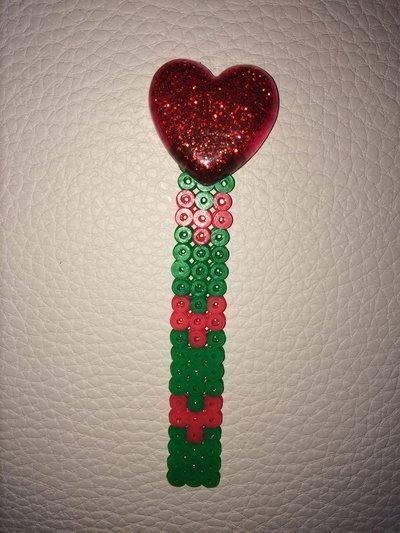 Segnalibro in pyssla - hama beads
