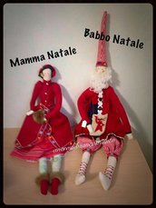 Tilda Babbo e Mamma Natale