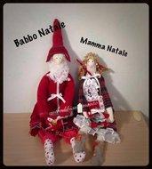 Tilda Babbo e Mamma Natale medi