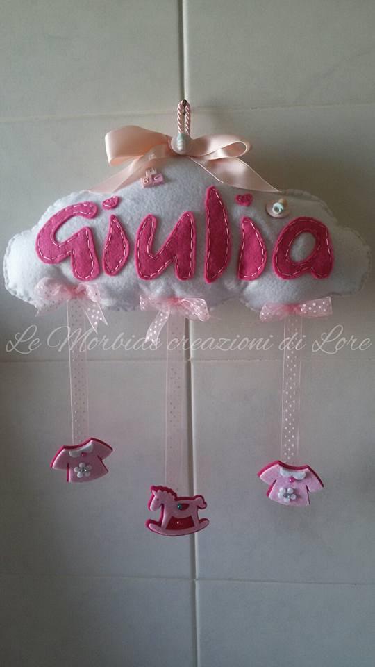 Fiocco nascita Giulia