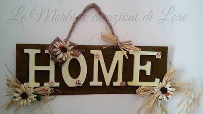 Pannello decorativo Home