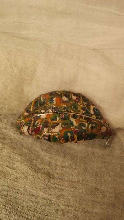 Gioiello per sciarpe a forma di foglia