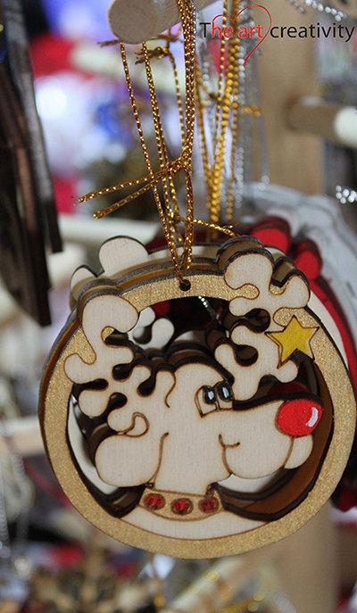 "Addobbo  ""Rudolph la renna"""