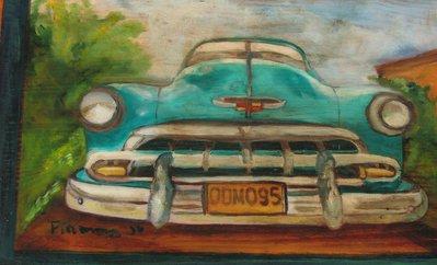 auto americana anni 50 taxi di Cuba 2