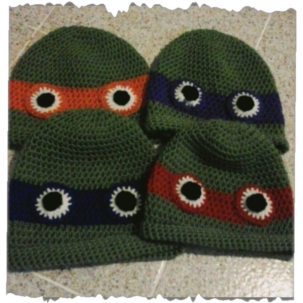Cappellino Tartaruga Ninja lana