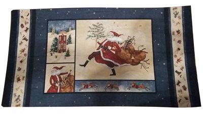 PANNELLO AMERICANO con Babbo Natale