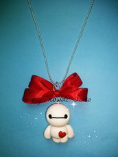 collana baymax in fimo