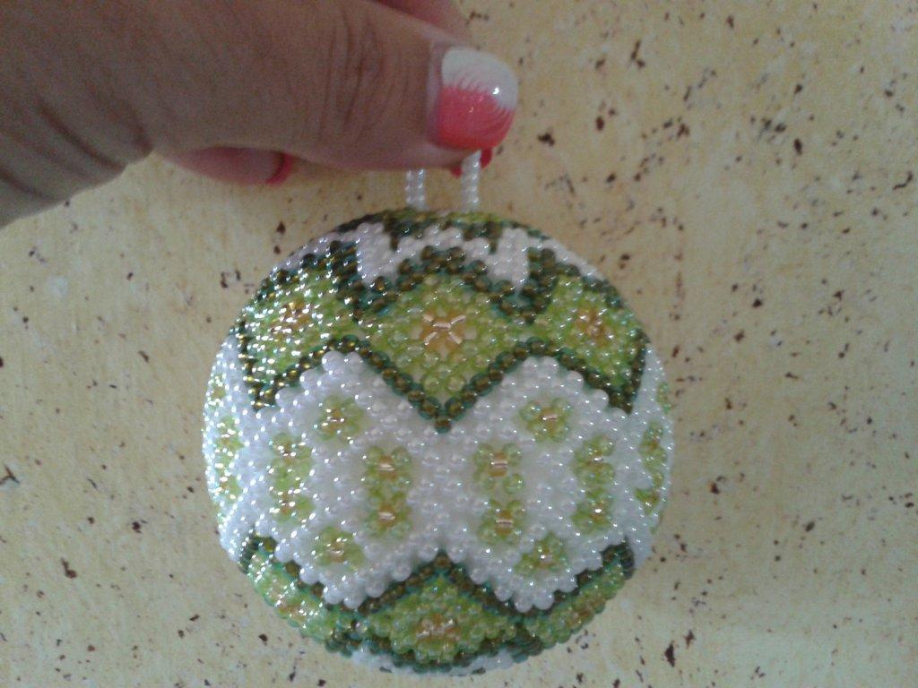 schema palla perline