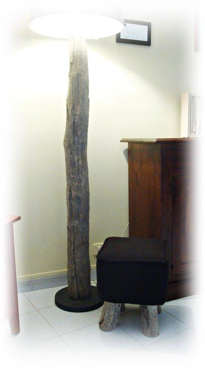Pouf con legni di mare per la casa e per te for Legni di mare arredamento