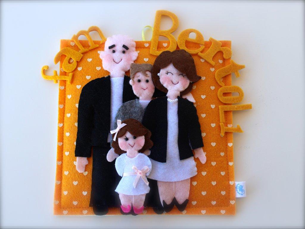Ritratti famiglia personalizzati