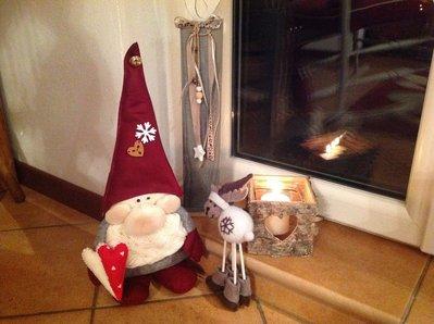 Elfo natalizio rubacuori