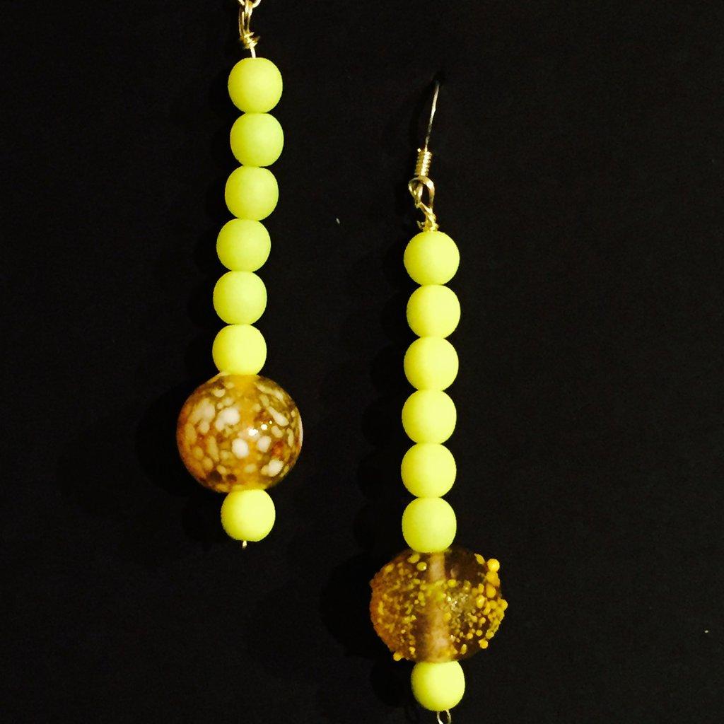 Orechini perle swarovski