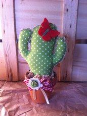 Cactus di stoffa