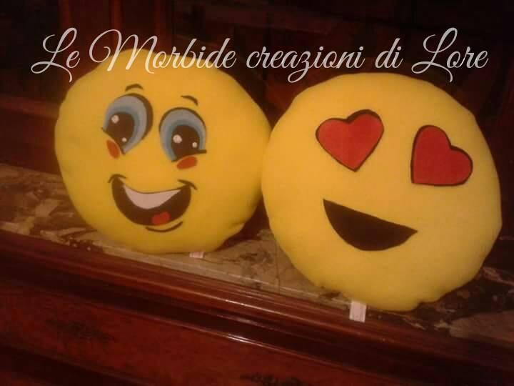 cuscini emoticon personalizzati