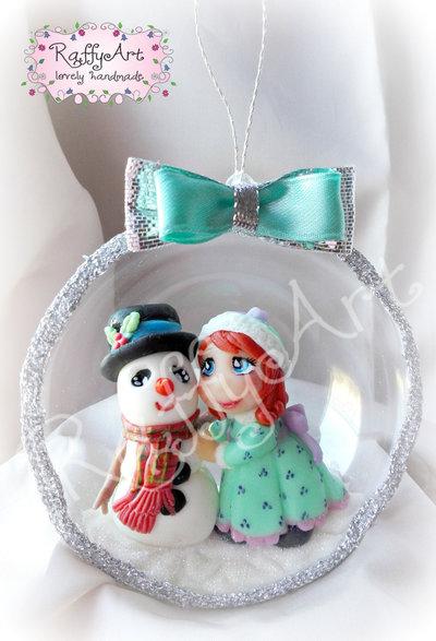 "Pallina ""Me and my Snowfriend"""