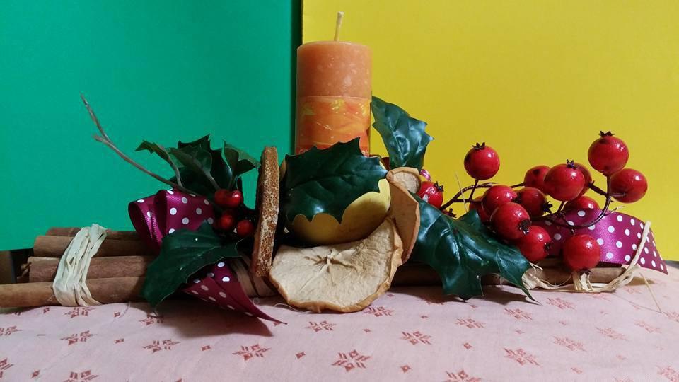 Centro tavola natalizio handmade