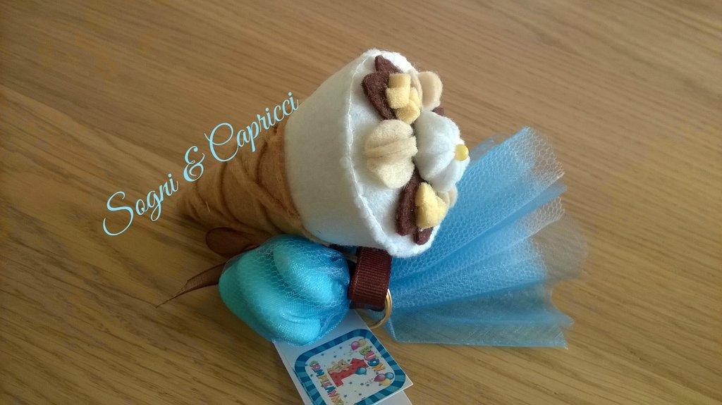 portachiavi calamite idea regalo gelato cono algida