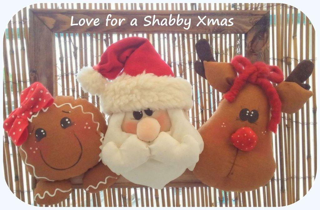 Ghirlanda natalizia o fuoriporta